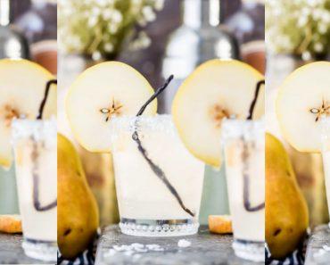 allcreated- pear coconut cocktail