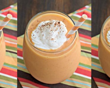 allcreated - pumpkin pie smoothie