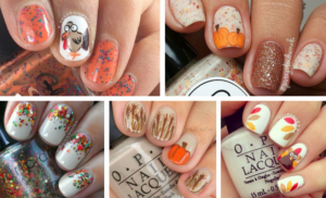 allcreated - thanksgiving nail art