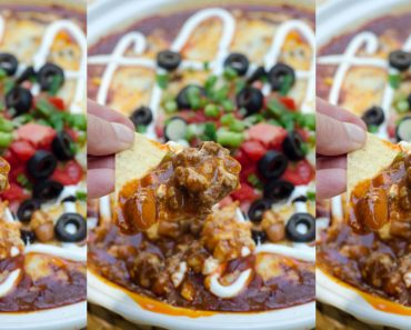 allcreated - beef enchilada dip