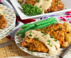 allcreated - chicken fried steak