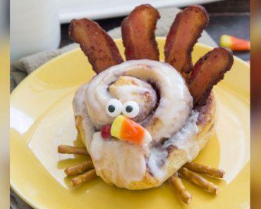 allcreated - cinnamon roll turkeys