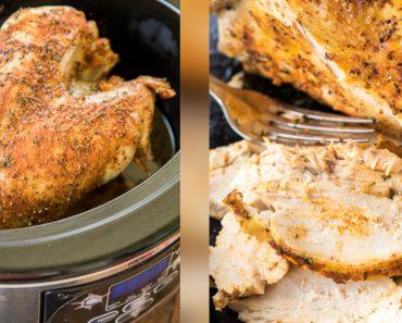 allcreated - slow cooker turkey breast