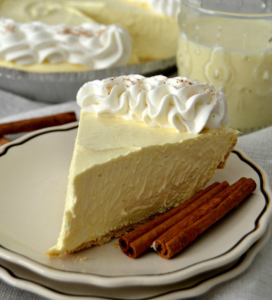 allcreated - eggnog pie