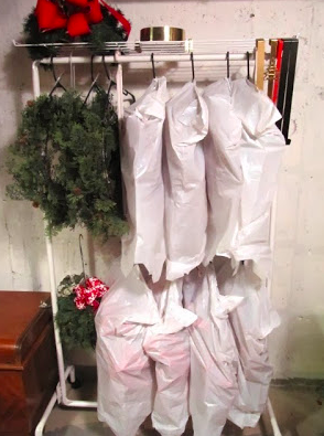 Wreath Storage Ideas That Will Keep Them Dust Free And
