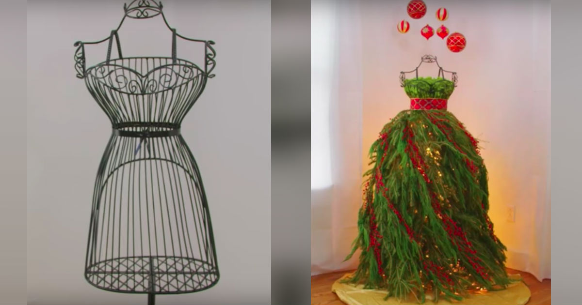 Wire Christmas Tree Form