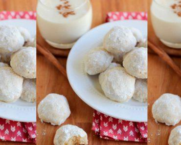 allcreated - eggnog meltaway cookies