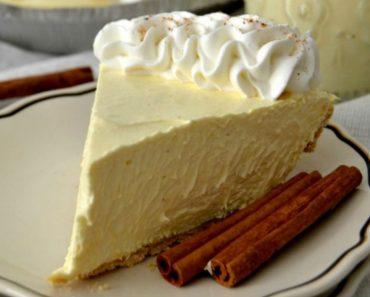 allcreated - eggnog pie