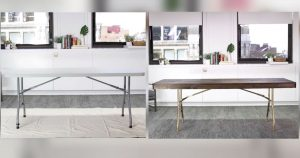 allcreated - folding table upcycle