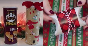 allcreated - gift wrapping hacks