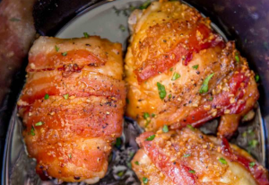 allcreated - bacon brown sugar chicken