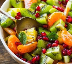 allcreated - winter fruit salad