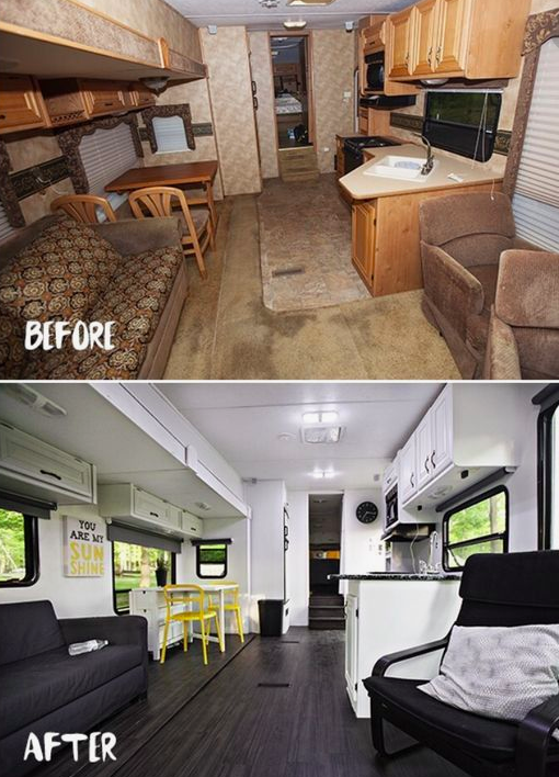 allcreated: camper renovation
