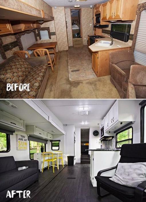 allcreated: camper renovation