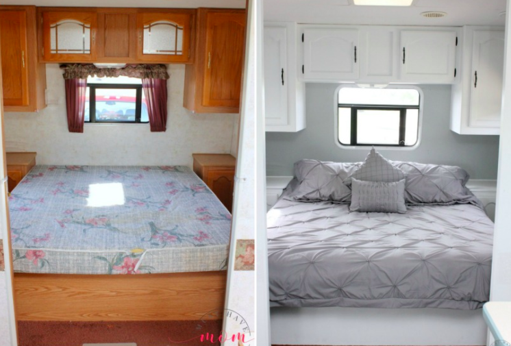Camper Renovation And Tutorials Completely Transform Your RV