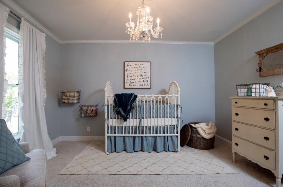 allcreated - joanna gaines' baby nursery