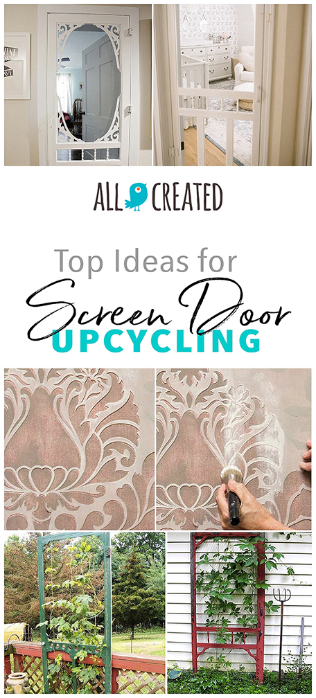 screen door upcycling ideas decorating