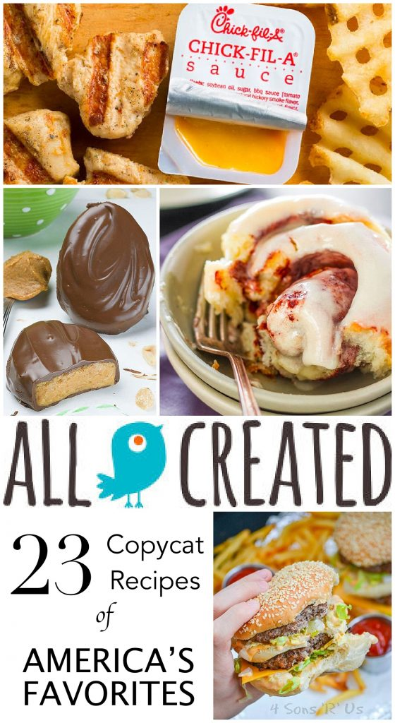 allcreated - copycat recipes