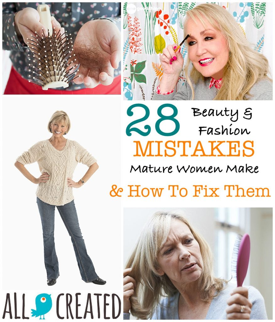 allcreated - mature beauty and fashion mistakes
