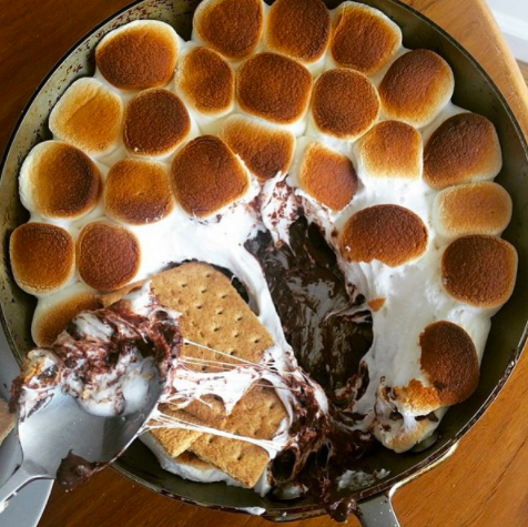 allcreated - s'mores dip