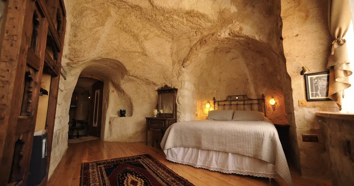 unusual airbnb homes next vacation _ airbnb _ Turkey Cave _ allcreated