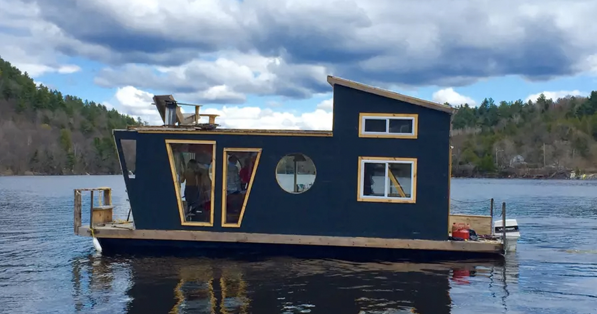 unusual airbnb homes next vacation_ airbnb _ River House Boat _ allcreated
