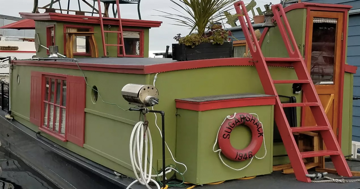 unusual airbnb homes next vacation_ airbnb _ Seattle House Boat _ allcreated