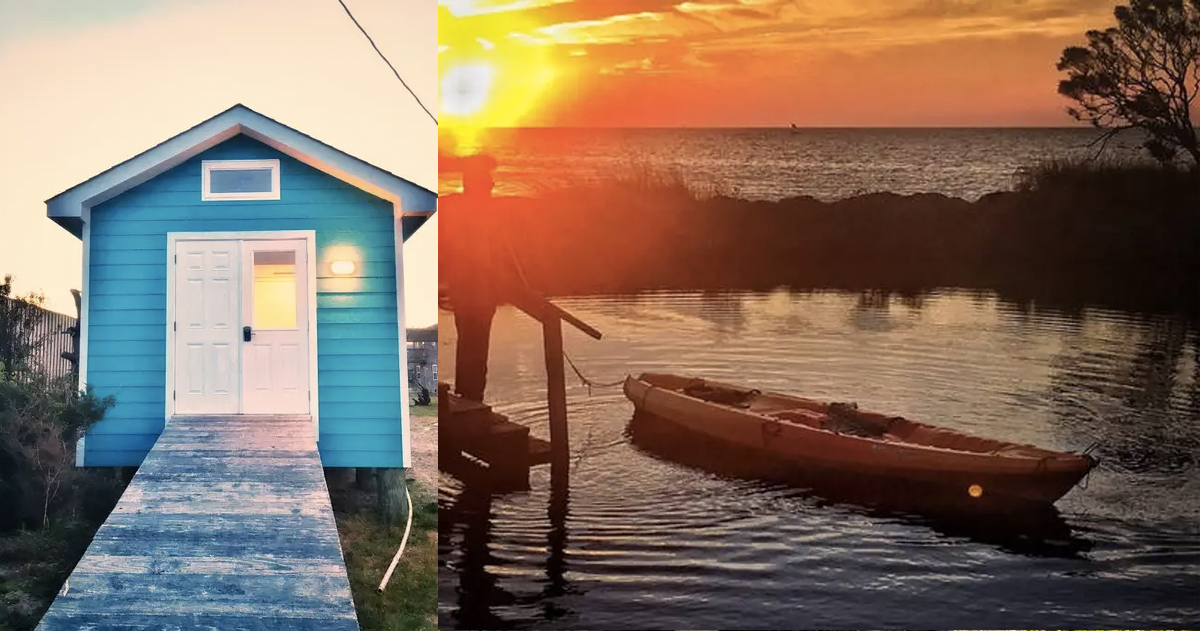 unusual airbnb homes next vacation _ airbnb _ rodanthe tiny house _ allcreated