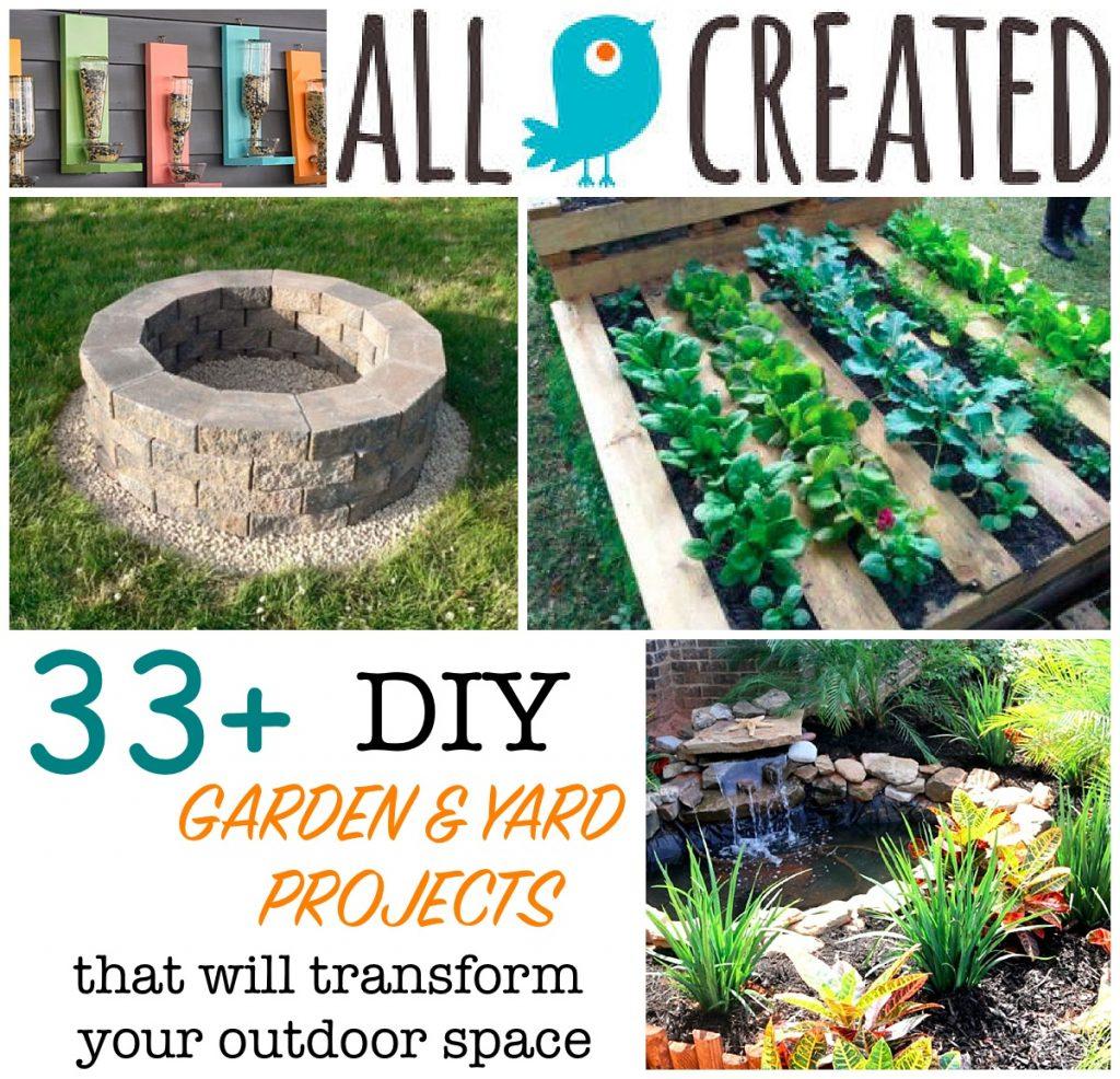 allcreated - diy backyard projects