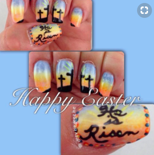 Easter nail art ideas that you can do yourself or ask a pro allcreated easter nail art solutioingenieria Images