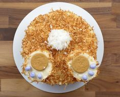 all created easter bunny butt cake