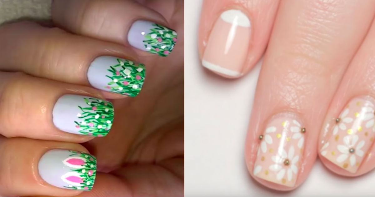 Easter nail art ideas that you can do yourself or ask a pro solutioingenieria Images
